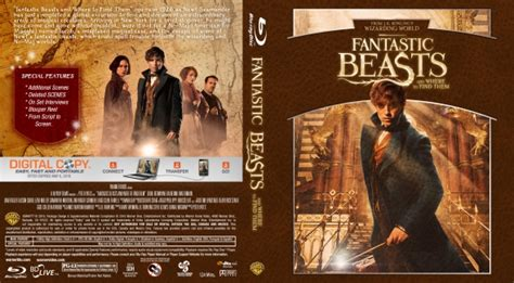 Where To Find Covers Fantastic Beasts And Where To Find Them Dvd Covers