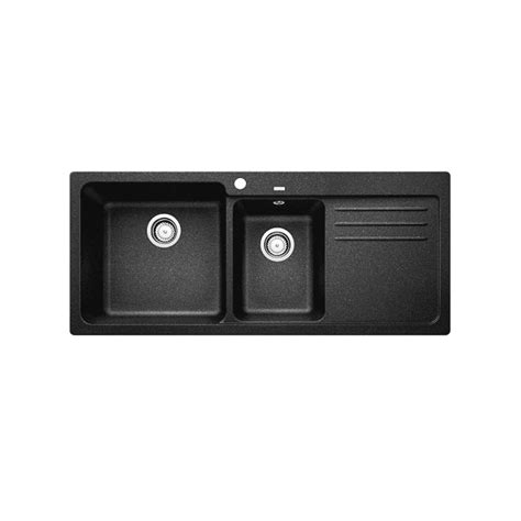 Blanco Black Granite Sink by Composite Granite Blanco Naya8 175 Sink Black The Sink