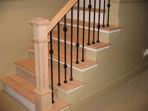 Wrought Iron Banisters by Knuckle Single Knuckle And Plain Wrought Iron