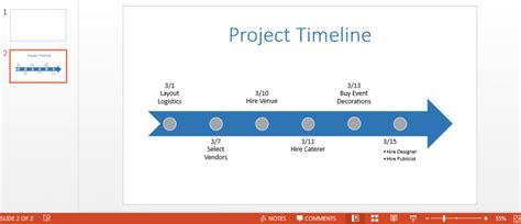 How To Make A Timeline In Powerpoint Smartsheet Creating Powerpoint Template