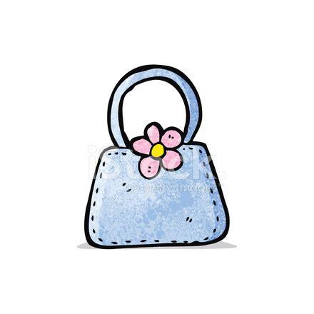 cartoon handbag stock vector freeimages.com