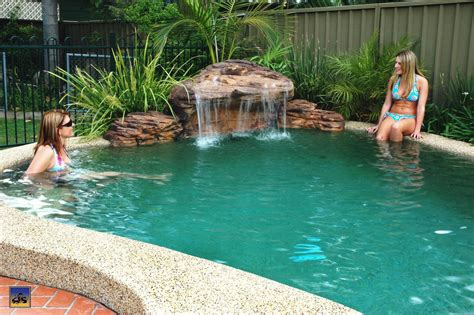 pool waterfalls 4 awesome ideas for your backyard pool