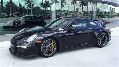 black porsche 911 gt3 2014 basalt black porsche 911 gt3 475 hp porsche