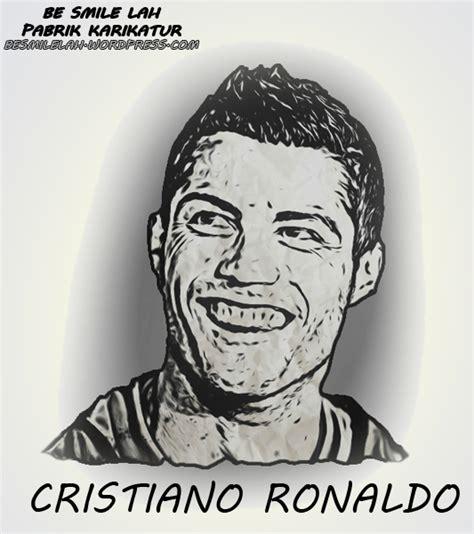 Kaos Bola Messi Karikatur karikatur pemain sepak bola cristiano ronaldo cr 9