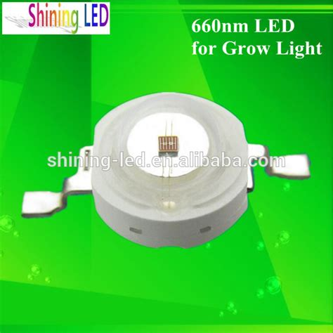 660nm led grow light 3w 660nm led chip for decorative plant indoor grow lights