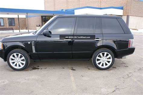 land rover hse 2006 2006 range rover hse
