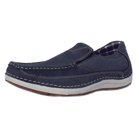 Slip On Navy chatham marine marshall navy s slip on boat shoe