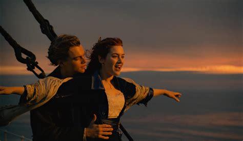titanic film movie pin still of leonardo dicaprio and kate winslet in titanic