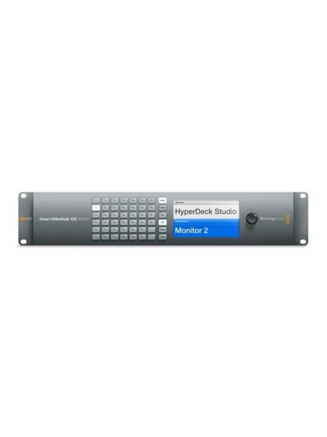 Blackmagic Design Smart Videohub 40x40 blackmagic design smart videohub 12g 40x40 bmdonline eu