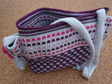 tuscany tote bag pattern 17 best images about crochet bags baskets on pinterest