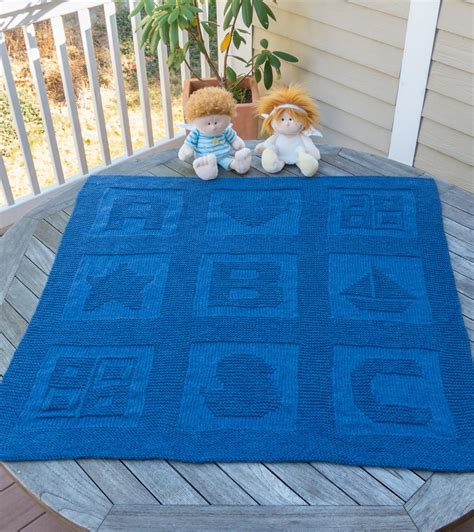 Pattern For Baby Blanket Knitting by Happy Knitting With Free Knitting Patterns For Baby