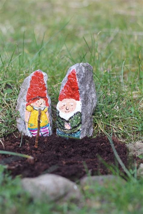 Painted Rocks For Garden 17 Best Images About Gnomes On Pinterest Gardens Messages And Metals