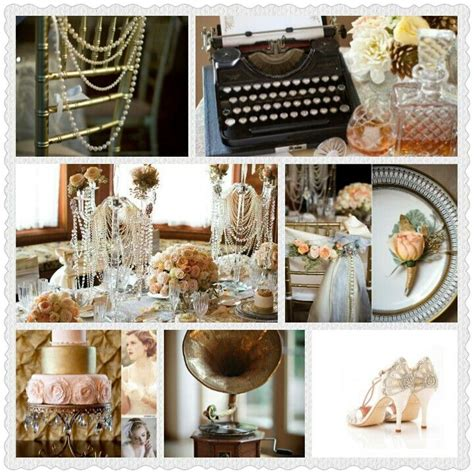 tone and theme of the great gatsby great gatsby mood board butterfly ivy vintage fashion