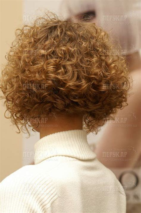 tight perms for short hair tight curly perm short hairstyle 2013
