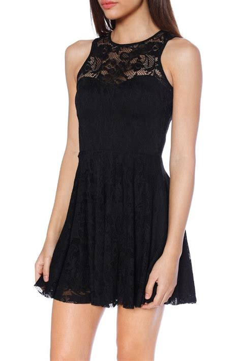 Dress Black Lace Cliona Limited black lace skater dress limited lace black laces and
