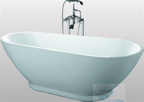 new modern pedestal bathtub soaking tub spa clawfoot