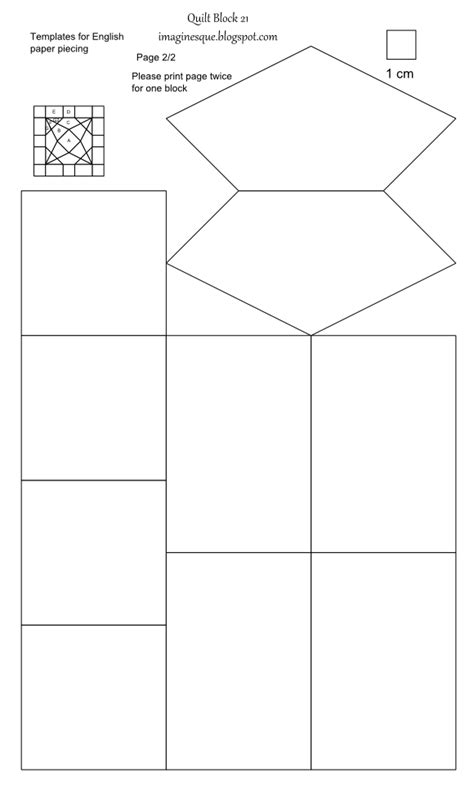 paper piecing templates uk imaginesque quilt block 21 templates for piecing