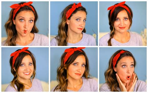 different ways to wear a bandana with hair the different ways to use bandana onlybandanas com s blog