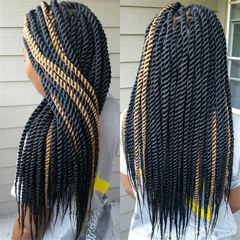 segelese twist with two tone color 40 super chic senegalese twist styles we love