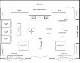 Store Floor Plans by Clothing Boutique Floor Plan Design Portfolio