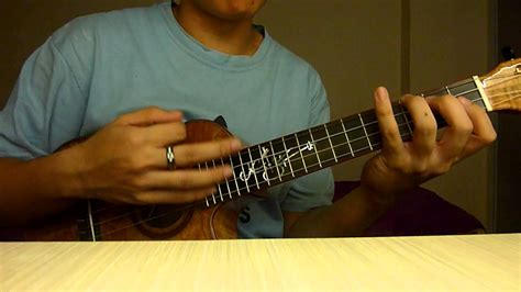 fingerstyle cover tutorial counting stars ukulele tutorial chorus how to arrange