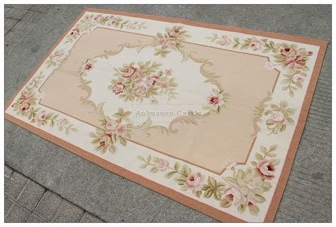 Shabby Chic Area Rugs 3x5 Shabby Chic Pink Ivory Aubusson Area Rug Home Decor Carpet Wool Ebay