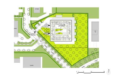 plan com gallery of biopole biotech business incubator peripheriques architectes 22