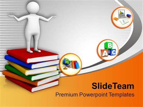focus on learning higher education powerpoint templates
