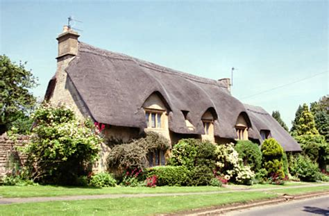 cottages in chipping cden cottages in chipping cden chipping camden cotswolds stock