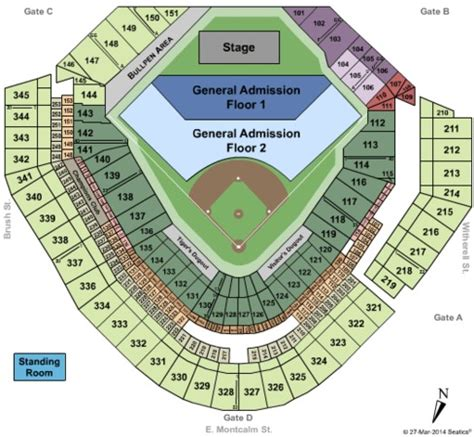 comerica park seating sections comerica park tickets in detroit michigan comerica park