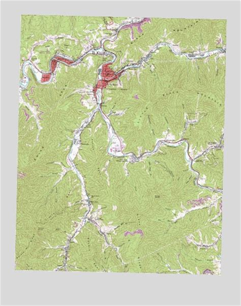 harlan ky map harlan ky topographic map topoquest