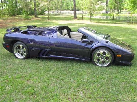 Diablo Lamborghini For Sale Lamborghini Diablo Vt Roadster Picture 6 Reviews News