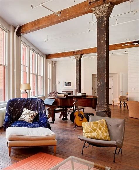 wohnideen new york style einrichtungsideen ein loft in new york