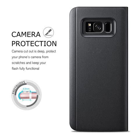 Samsung J5 Pro Flip Mirror S View Autolock J530 Flip Cover Autolock for samsung galaxy j3 j5 j7 pro 2017 clear view mirror