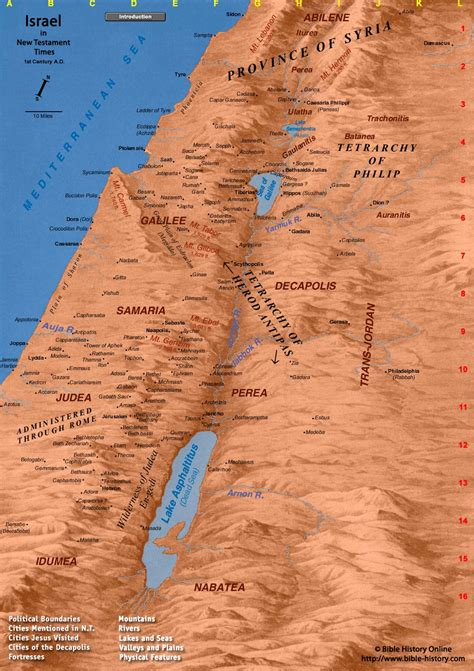 map of new testament jerusalem map of ancient israel map of israel in new testament times