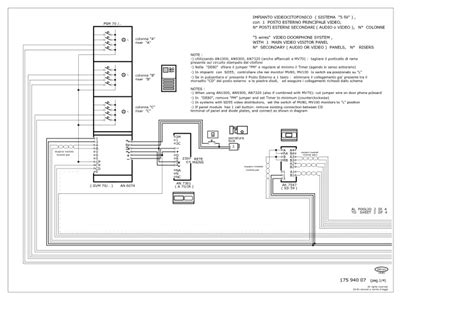 bitron intercom wiring diagram security intercom