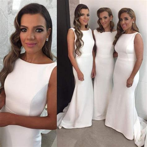 White Bridesmaid Dress by Best 25 White Bridesmaid Dresses Ideas On