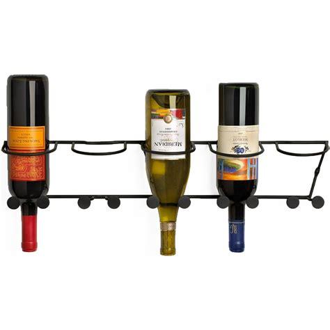 Mounted Wine Rack by Wall Mounted Wine Bottle Rack In Wine Racks