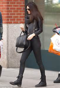 Inside Heels Justine Black Inside kendall jenner in new york smile4cali