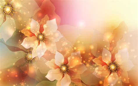 Sprei Teratai Motif Autumn glowing flowers live wallpaper android apps on play