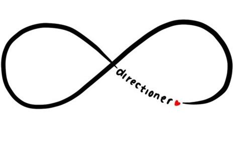 tattoo infinity one direction one direction