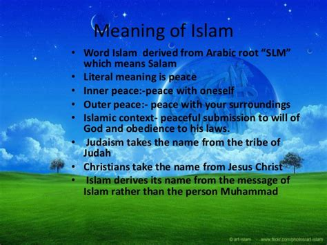 What Is The Meaning Of L by Meaning Of Islam