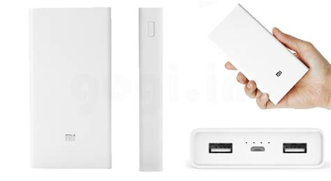 Power Bank Nippon 20000 Mah xiaomi mi 20000 mah power bank launched for rmb 149