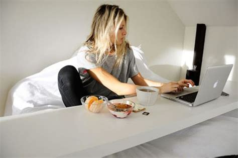 The Bed Desk by Bed Desk Solutions For Working In Bed And What To Avoid