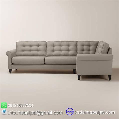 Sofa Sudut Di beli sofa sudut sectional minimalis kayu jati jepara harga