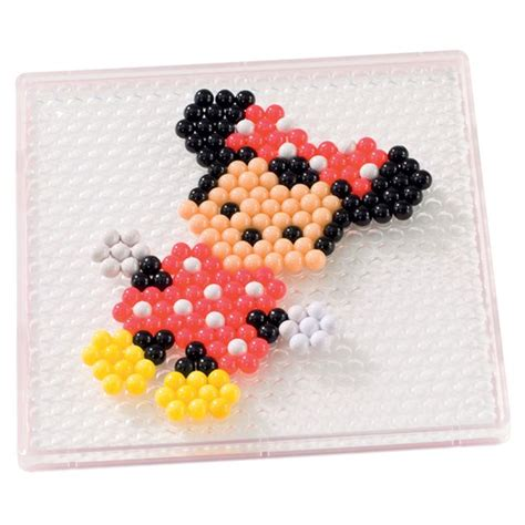 minnie mouse aqua minnie mouse aqua perler