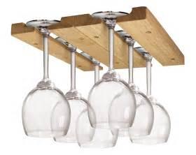 wine glass holder stemware rack cabinet wood storage