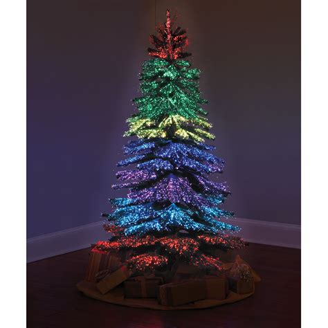 light a tree the thousand points of light tree hammacher schlemmer