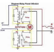 Wiring Diagram Relay Power Window Rangkaian
