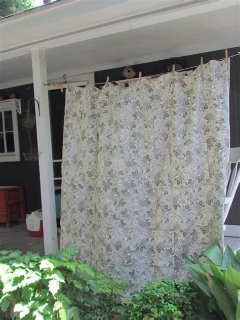 outdoor shower curtains marty s fiber musings pojagi inspired a shower curtain